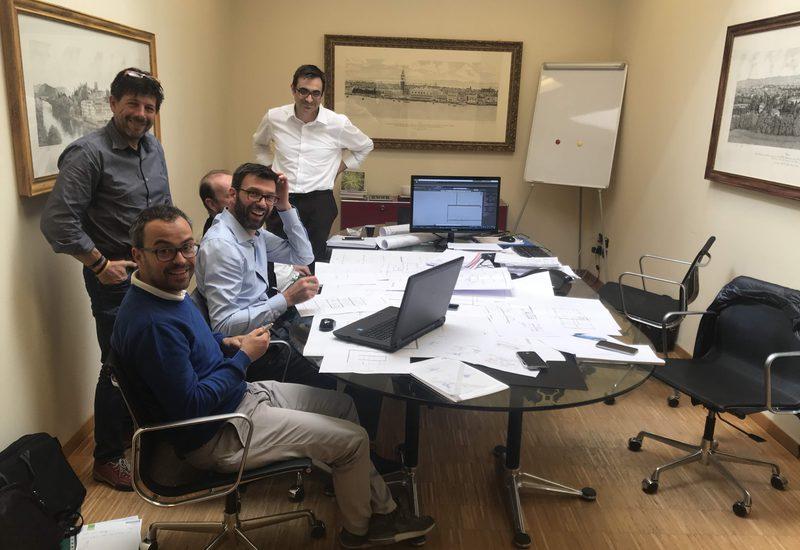 Maggio 2019 - Il Team di progettazione