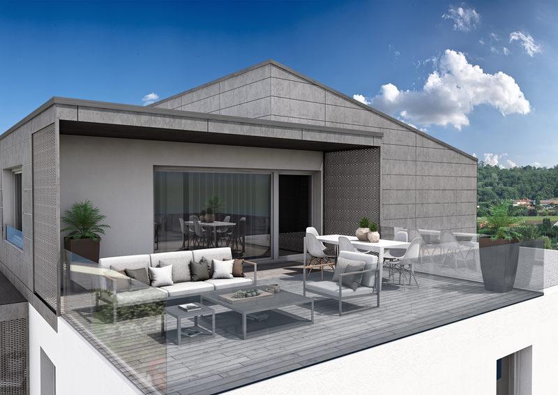 Condominio sostenibile e futuribile a Costabissara, Vicenza