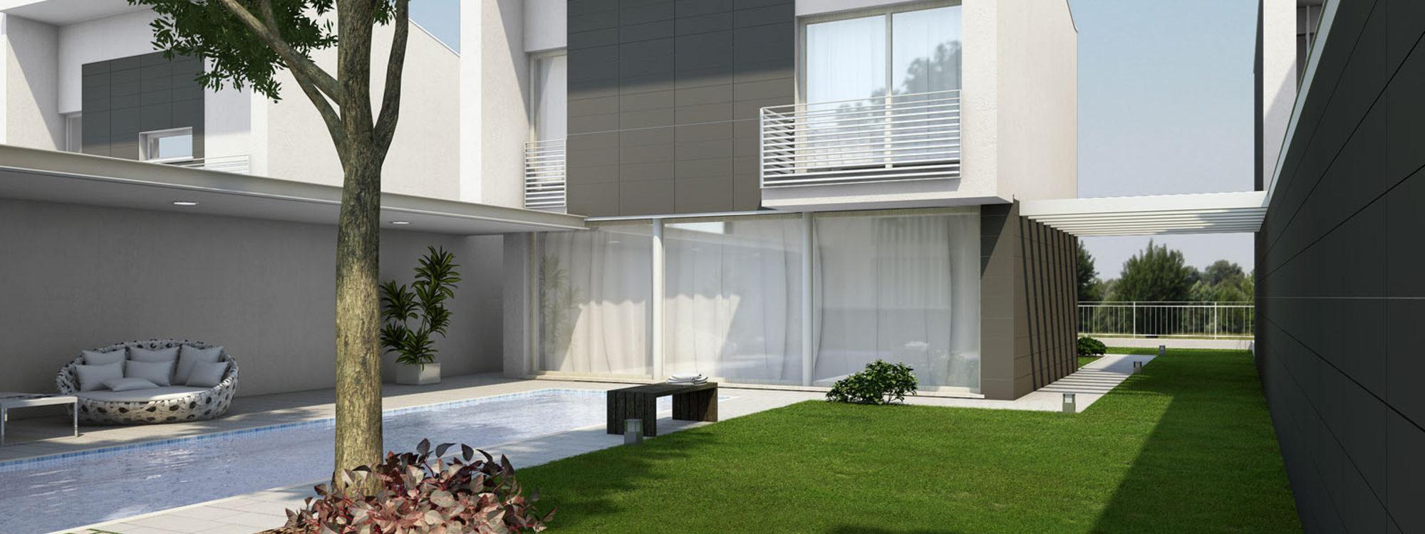 Villa Offsite con piscina