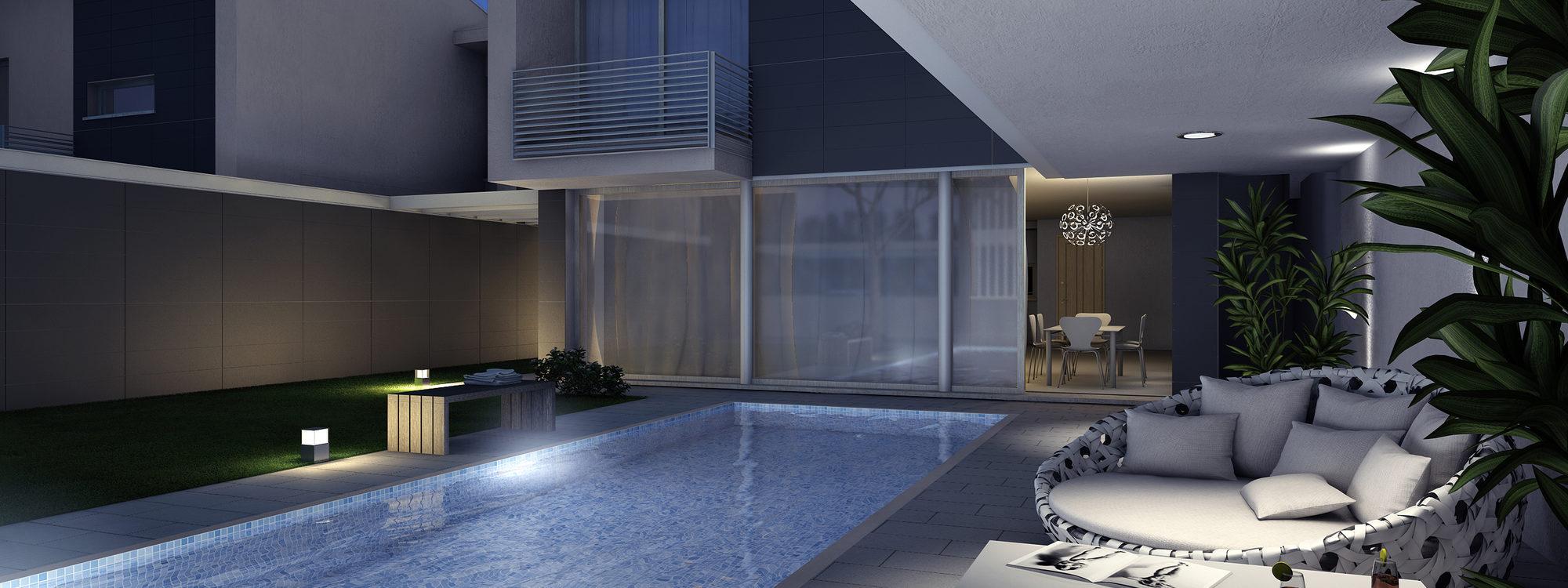 Concept living all'insegna del benessere e il relax: nuove ville con piscina a Vicenza