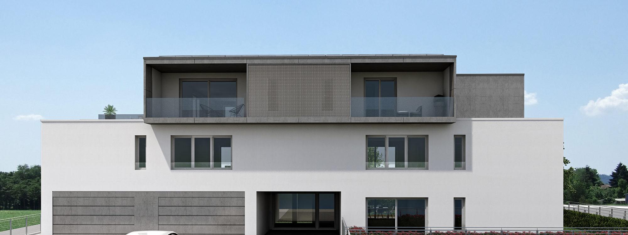 Residence Guglielmo Marconi in Xlam e acciaio a Costabissara